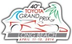 40th Toyota Grand Prix of Long Beach Logo