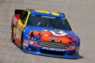 NSCS Driver Carl Edwards on track in the No. 99 Kelloggs/CheezIt Ford Fusion - Photo Credit: Drew Hallowell/Getty Images