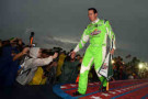 2014 NSCS Driver Kyle Busch During Fan Introduction - Photo Credit: Jerry Markland/Getty Images