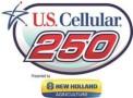 U.S. Cellular 250 presented by New Holland Logo