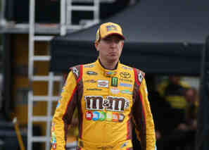 2014 NSCS Driver Kyle Busch (M&M's) - Photo Credit: Sarah Glenn/Getty Images