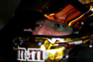 Kyle Busch, driver of the #18 M&M's Toyota, sits in his car during practice for the NASCAR Sprint Cup Series MyAFibStory.com 400 at Chicagoland Speedway on September 12, 2014 in Joliet, Illinois. - Photo Credit: Nick Laham/Getty Images