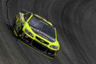 Paul Menard, driver of the #27 Richmond/Menard's Chevrolet, practices for the NASCAR Sprint Cup Series MyAFibStory.com 400 at Chicagoland Speedway in Joliet, Illinois.- Photo Credit: Nick Laham/Getty Images