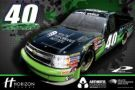 Todd Peck, No. 40 Horizon Pharma Chevrolet Silverado Layout