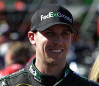 NASCAR Driver Denny Hamlin (FedEx Ground) - Photo Credit: Jerry Markland/Getty Images