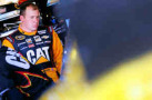 NSCS Driver Ryan Newman (Caterpillar) in garage area - Photo Credit: Tom Pennington/Getty Images