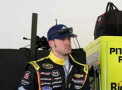 Paul Menard, driver of the #27 Peak/Menard's Chevrolet, stands in the garage area during practice for the NASCAR Sprint Cup Series 3rd Annual Sprint Unlimited at Daytona International Speedway on February 13, 2015 in Daytona Beach, Florida. - Photo Credit: Sarah Glenn/Getty Images