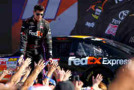 NASCAR Driver Denny Hamlin (FedEx Express) - Photo Credit: Jonathan Ferrey/Getty Images