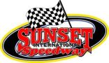 Sunset International Speedway Logo
