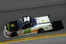 2015 NCWTS Driver Daniel Hemric on track in the No. 14 California Clean Power Chevrolet Silverado - Photo Credit: Jared C. Tilton/Getty Images