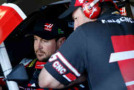Kurt Busch, driver of the #41 Haas Automation Chevrolet, sits in his car - Photo Credit: Christian Petersen/Getty Images