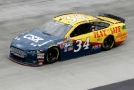 "2015 NSCS Driver, Chris Buescher, on Track in the No. 34 CSX ""Play It Safe"" Ford Fusion - Photo Credit: Brian Lawdermilk/Getty Images"