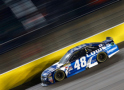 Jimmie Johnson, driver of the #48 Lowe's Chevrolet, races during the NASCAR Sprint Cup Series SpongeBob SquarePants 400 at Kansas Speedway on May 9, 2015 in Kansas City, Kansas. - Photo Credit: Jerry Markland/Getty Images