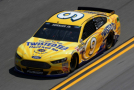 2015 NSCS Driver, Sam Hornish, Jr., On Track in the No. 9 Twisted Tea Ford Fusion - Photo Credit: Chris Graythen/Getty Images