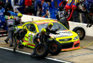 2015 NSCS No. 27 Sylvania/Menards Chevrolet SS Team During Pit Stop - Photo Credit: Brian Lawdermilk/Getty Images