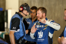 Dale Earnhardt Jr., driver of the #88 Nationwide Chevrolet, talks with his crew chief Greg Ives during practice for the NASCAR Sprint Cup Series Crown Royal Presents the Jeff Kyle 400 at the Brickyard at Indianapolis Motorspeedway on July 24, 2015 in Indianapolis, Indiana. - Photo Credit: Andy Lyons/Getty Images