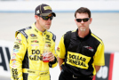2015 NSCS Driver, Matt Kenseth and Crew Chief Jason Ratcliff (Dollar General) - Photo Credit: Todd Warshaw/Getty Images