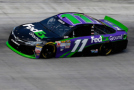 Denny Hamlin, driver of the #11 FedEx Ground Toyota, on track in preparation for the NASCAR Sprint Cup Series Irwin Tools Night Race at Bristol Motor Speedway on August 21, 2015 in Bristol, Tennessee. - Photo Credit: Gregory Shamus/Getty Images