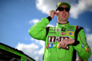 Kyle Busch, driver of the #18 M&M's Crispy Toyota Camry - Photo Credit: Jared C. Tilton/Getty Images