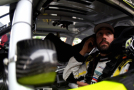 Paul Menard, driver of the #33 Richmond/Menards Chevrolet, sits in his car before the Xfinity Series Road America 180 presented by Johnsonville in Elkhart Lake, Wisconsin. - Photo Credit: Jonathan Moore/Getty Images