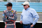 2015 NXS Driver, Ty Dillon (Yuengling Light) and RCR Team Owner, Richard Childress - Photo Credit: Jonathan Ferrey/Getty Images