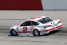2015 NSCS Driver, Brad Keselowski on track at Darlington Raceway in the throwback No. 2 Miller High Life Ford Fusion - Photo Credit Matt Sullivan/Getty Images