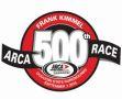 Frank Kimmel 500th ARCA Race Logo