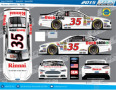 2015 NSCS No. 35 Rinnai Ford Fusion (Rendition)