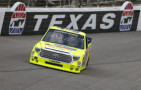 2015 NCWTS Driver, Matt Crafton on track in the No. 88 Damp Rid/Menards Toyota Tundra - Photo Credit Jonathan Ferrey/Getty Images
